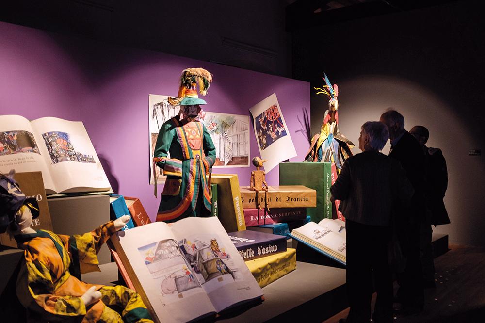 La Guida - Visite guidate alla mostra di Luzzati e al Filatoio Rosso