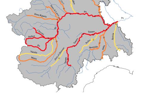 La Guida - I fiumi piemontesi rimangono sorvegliati speciali