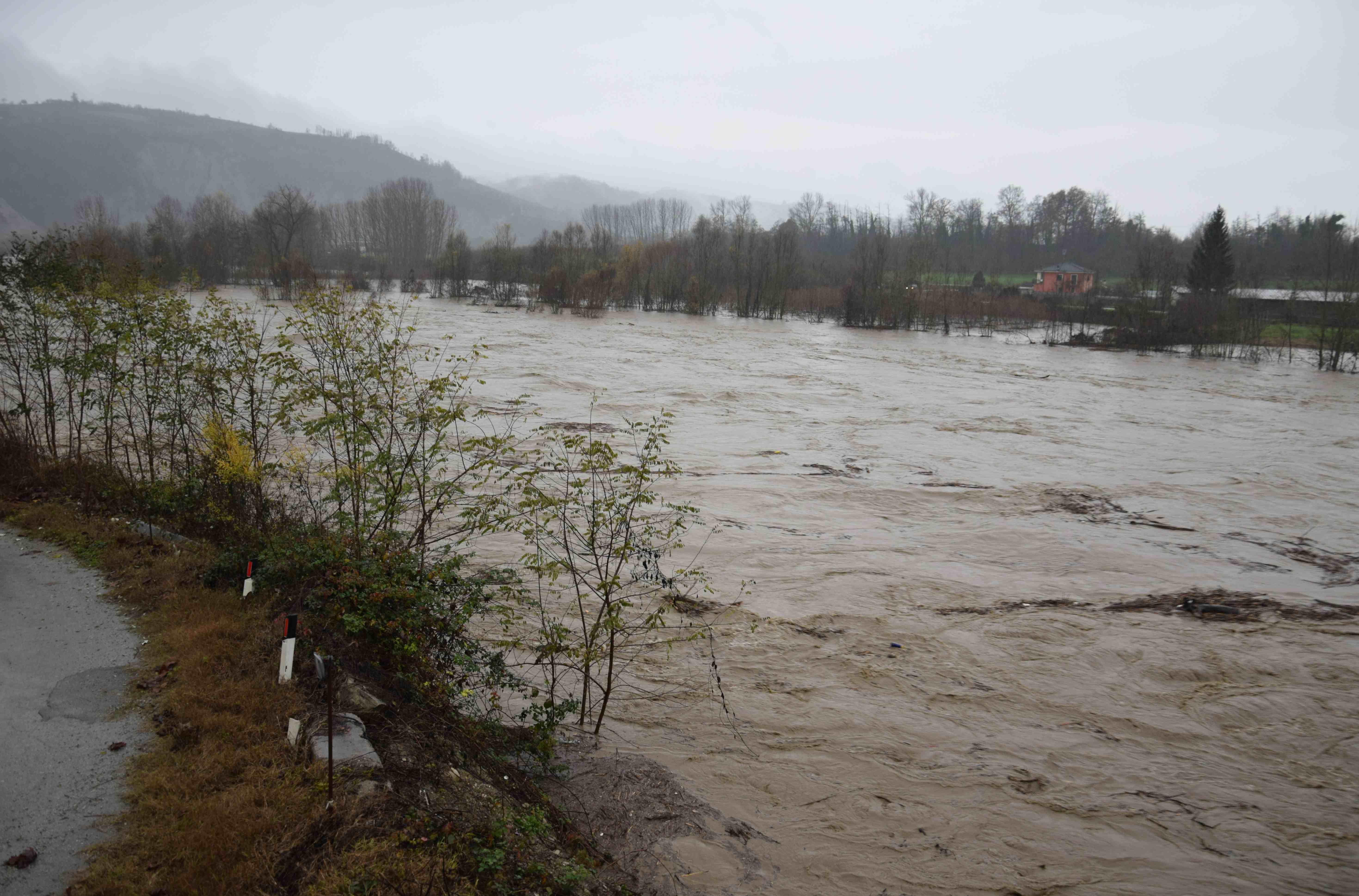 La Guida - Cessa l'allerta rossa in Piemonte, la Regione invita comunque alla prudenza