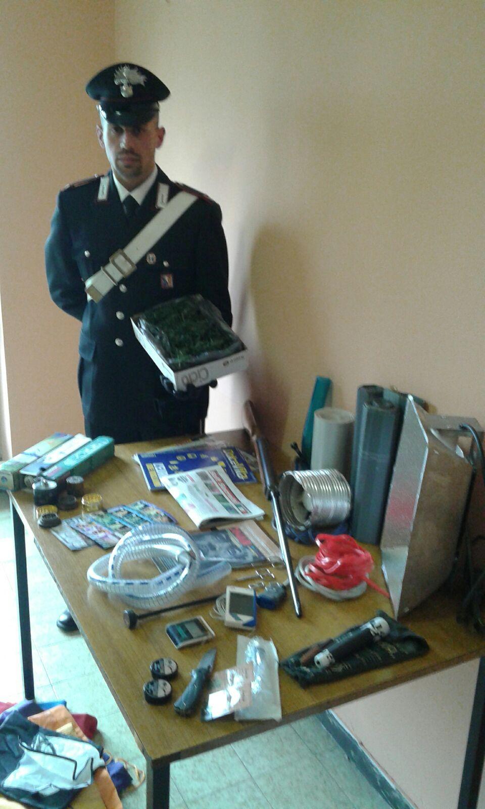 La Guida - Mezzo chilo di marijuana in frigo, arrestato a Cervere