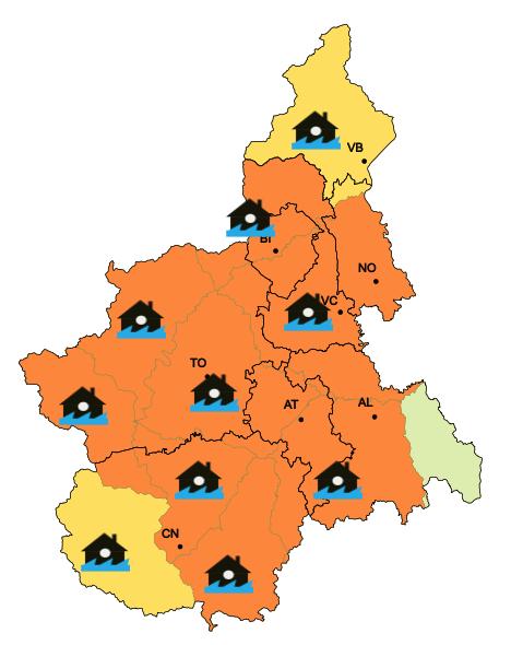"""La Guida - La Regione: """"Terminata l'emergenza maltempo su tutto il territorio"""""""