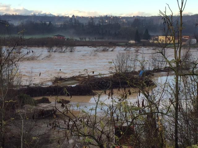La Guida - Alluvione: pochi e limitati danni a Dogliani