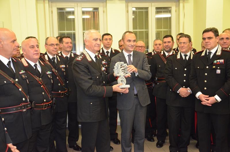 La Guida - Il Comandante generale dell'Arma dei Carabinieri in visita a Cuneo