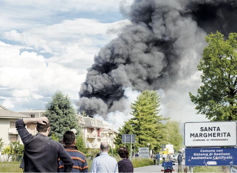 La Guida - Condannato a 4 anni per incendio doloso di un capannone