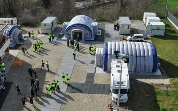 La Guida - Protezione Civile, 60 volontari cuneesi a Norcia