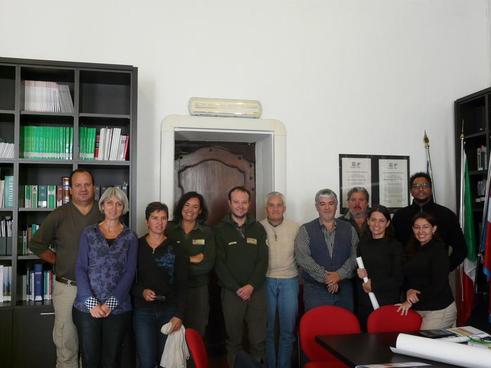 La Guida - Delegazione sudamericana in visita al Parco del Monviso