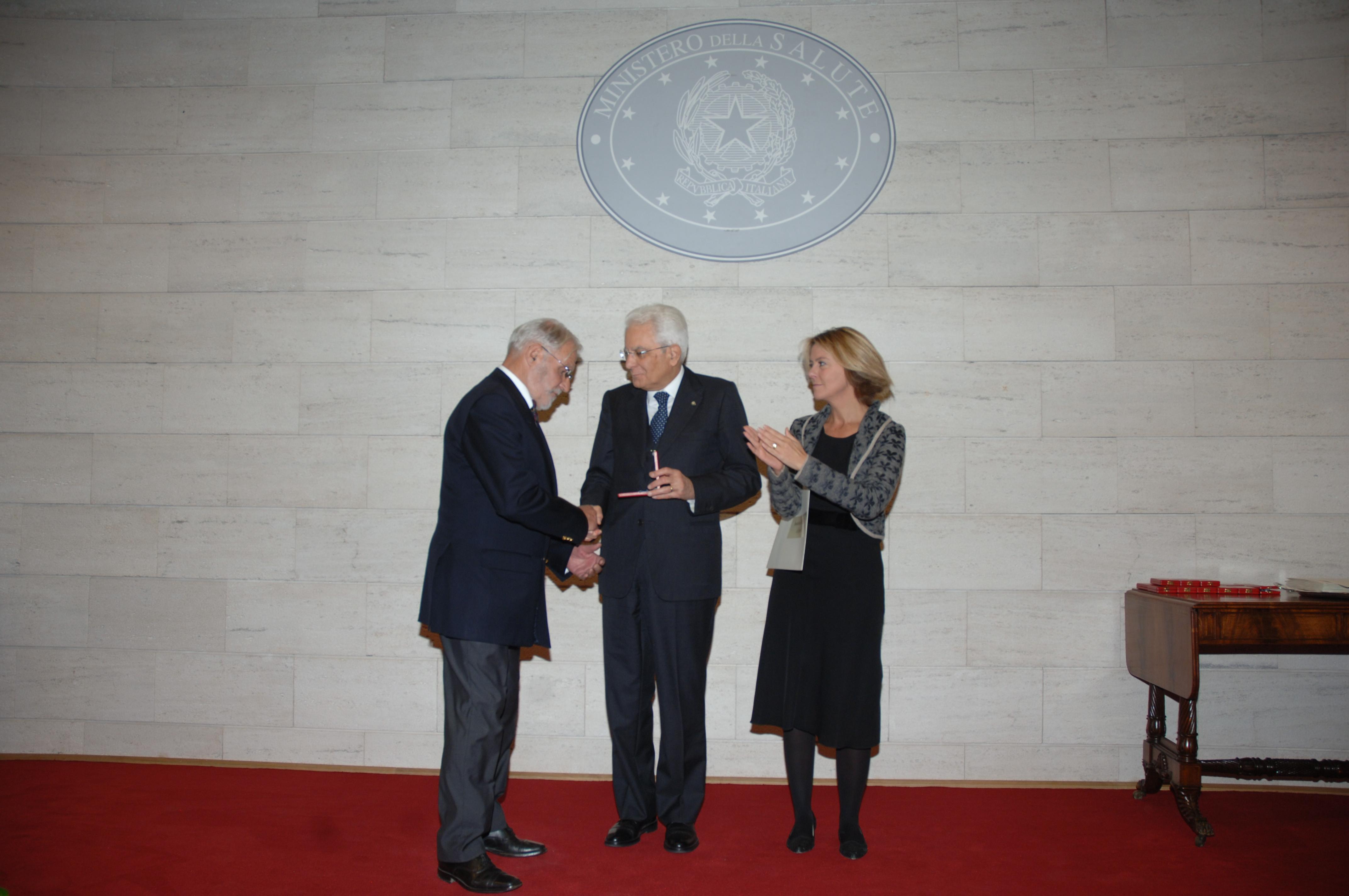 La Guida - Medaglia d'argento all'Associazione Italiana Trapiantati di Fegato