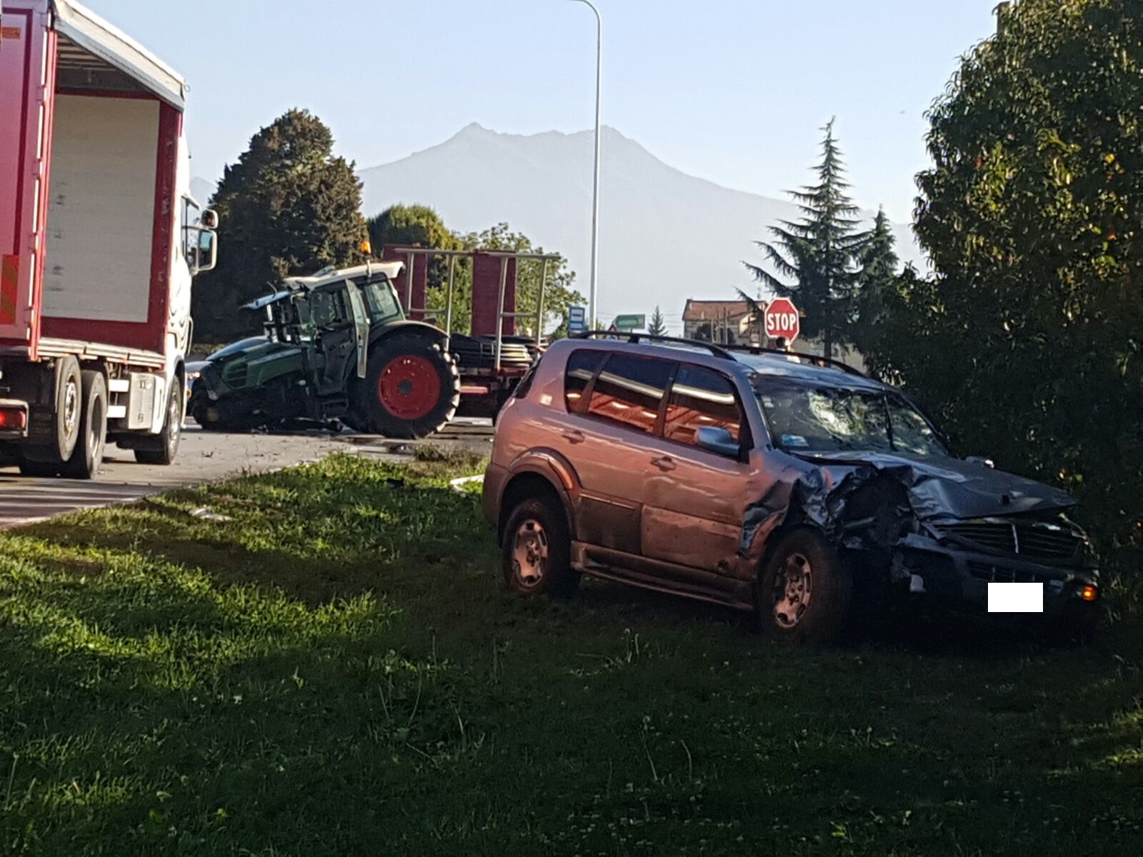 "La Guida - San Benigno, incidente stradale al ""solito"" incrocio"