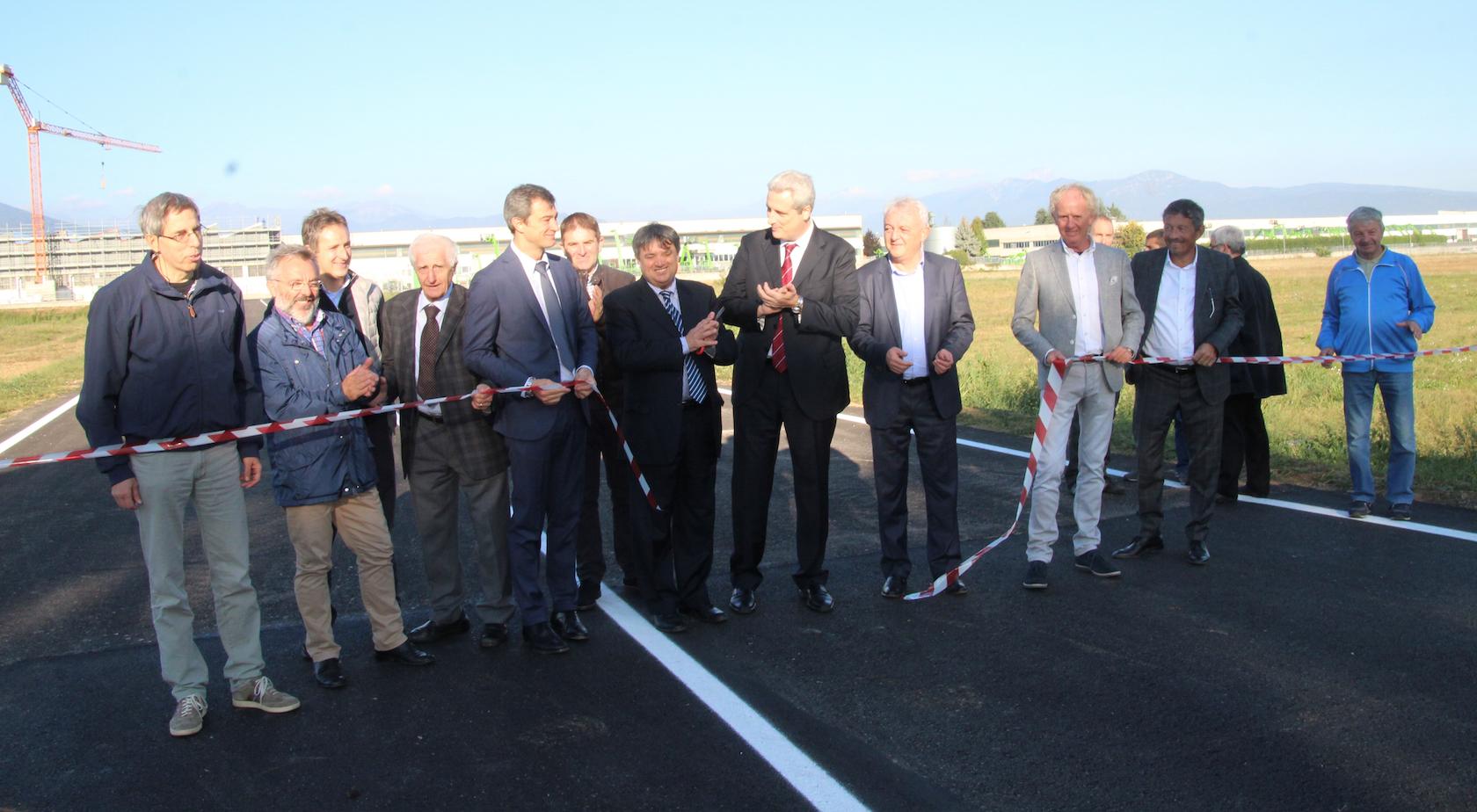 La Guida - Inaugurata nuova bretella stradale a San Defendente di Cervasca