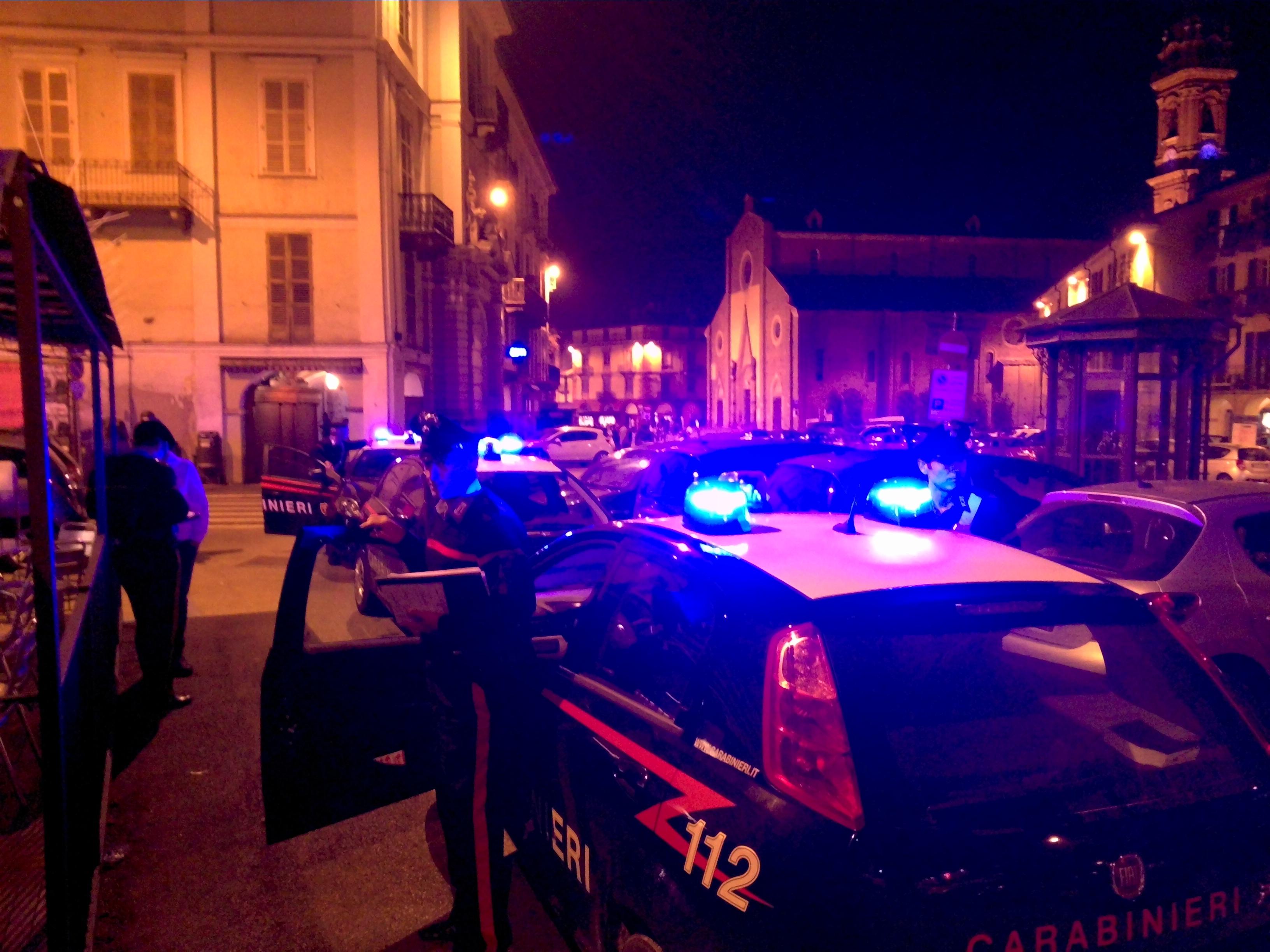 La Guida - I controlli dei carabinieri di Saluzzo