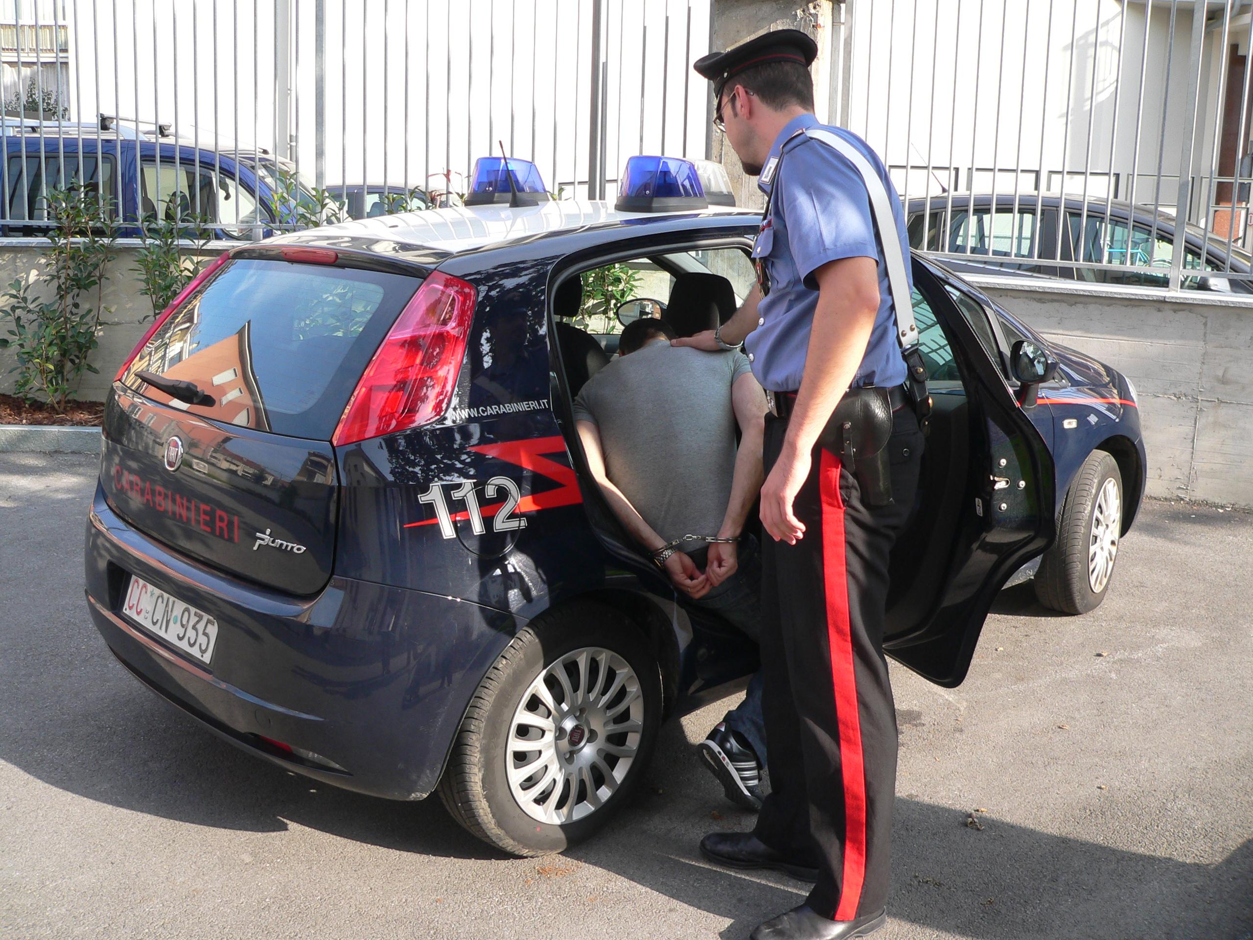 La Guida - Aggredisce i Carabinieri, arrestato e condannato