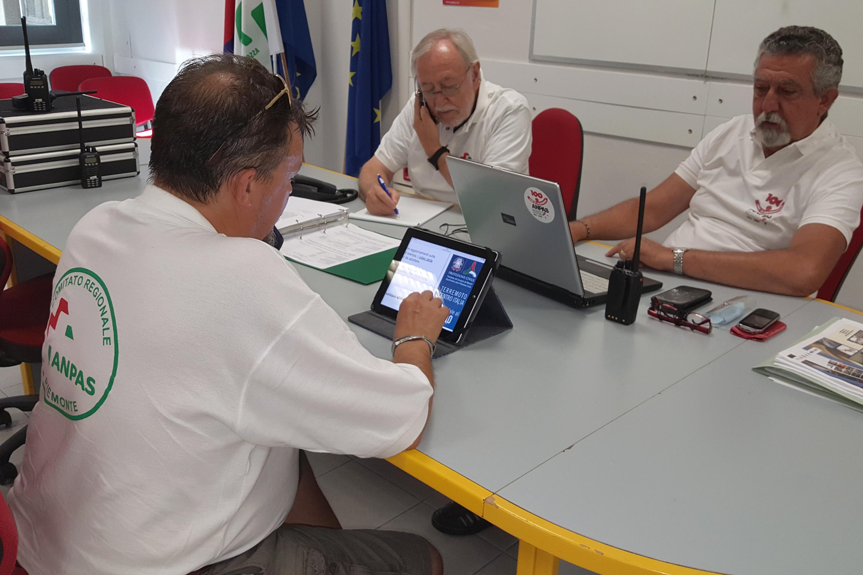 La Guida - Aperta la sala operativa regionale di Protezione civile
