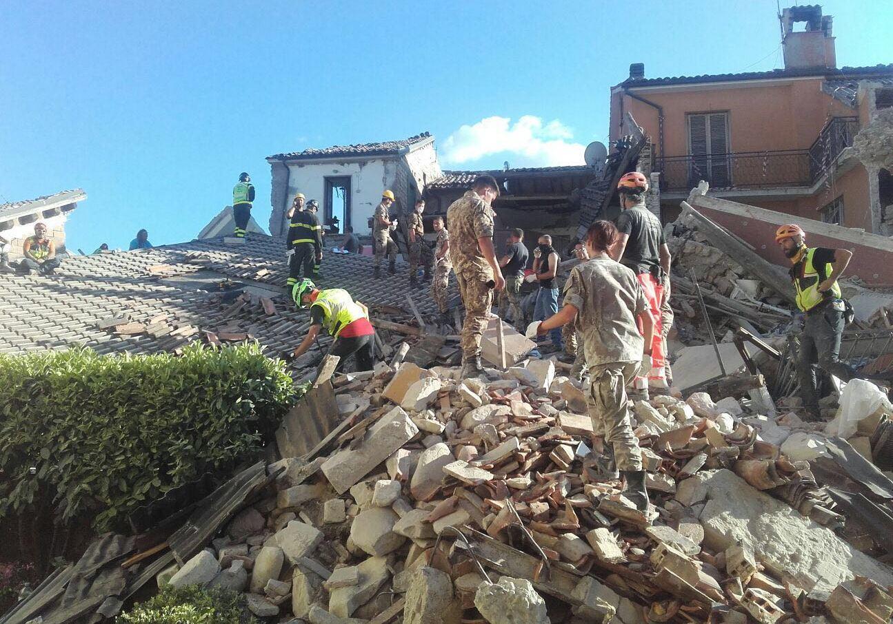 La Guida - Terremoto Centro Italia, partiti soccorsi da Cuneo