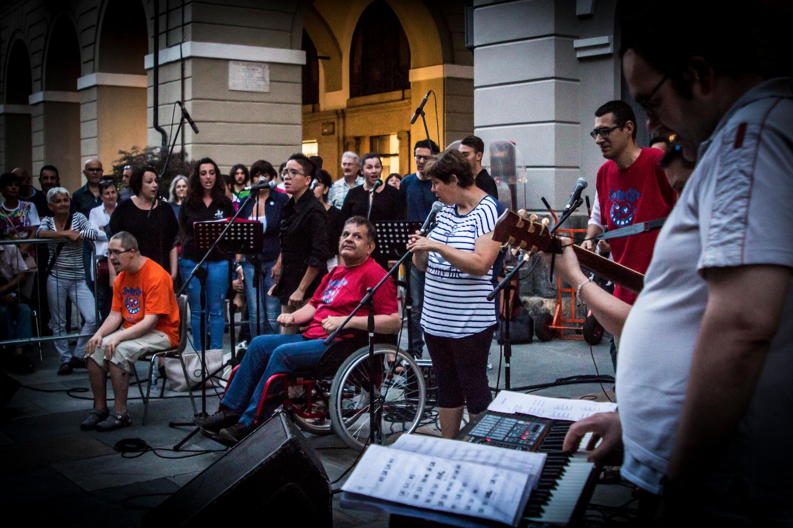 """La Guida - """"Note sopra il rigo"""", festival con le band dei Centri Diurni"""