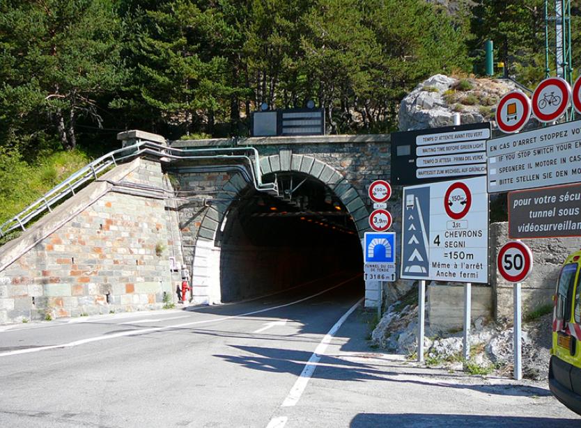 La Guida - Tunnel di Tenda, da lunedì quattro notti di chiusura