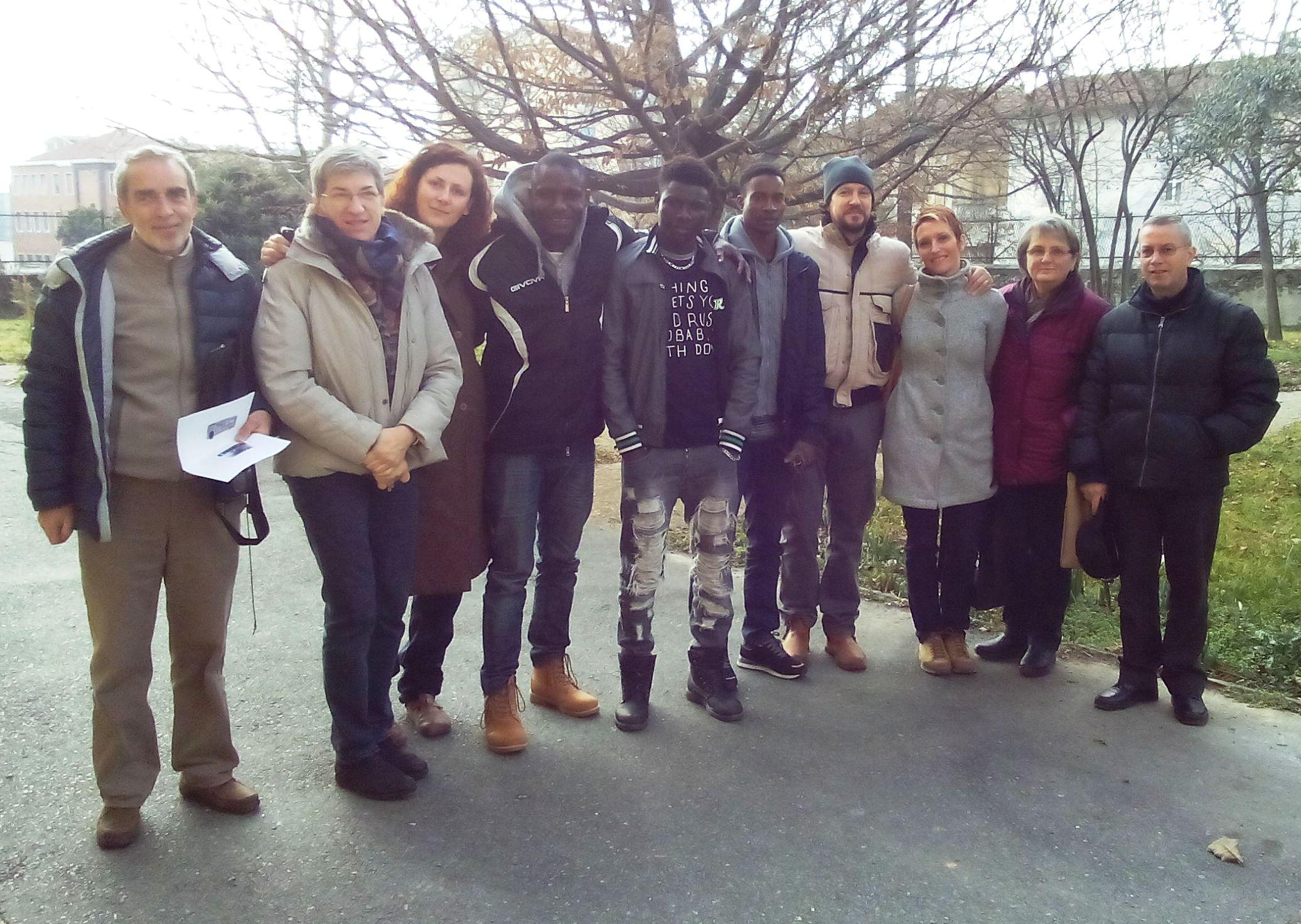 La Guida - Verzuolo accoglie tre giovani africani