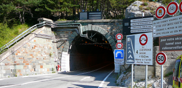 La Guida - Due chiusure notturne per il Tunnel di Tenda