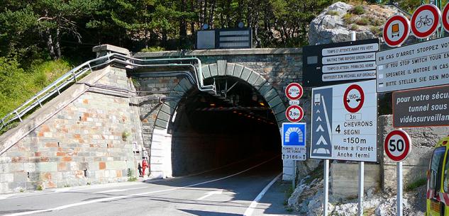 La Guida - Chiusure notturne per il tunnel di Tenda