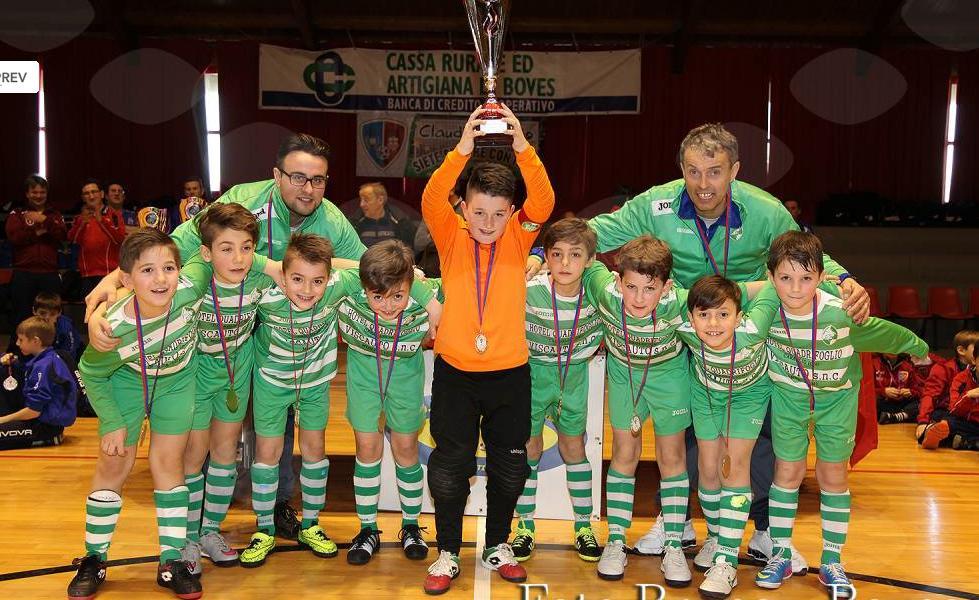 La Guida - I Pulcini 2007 del Caraglio vincono il torneo di Boves