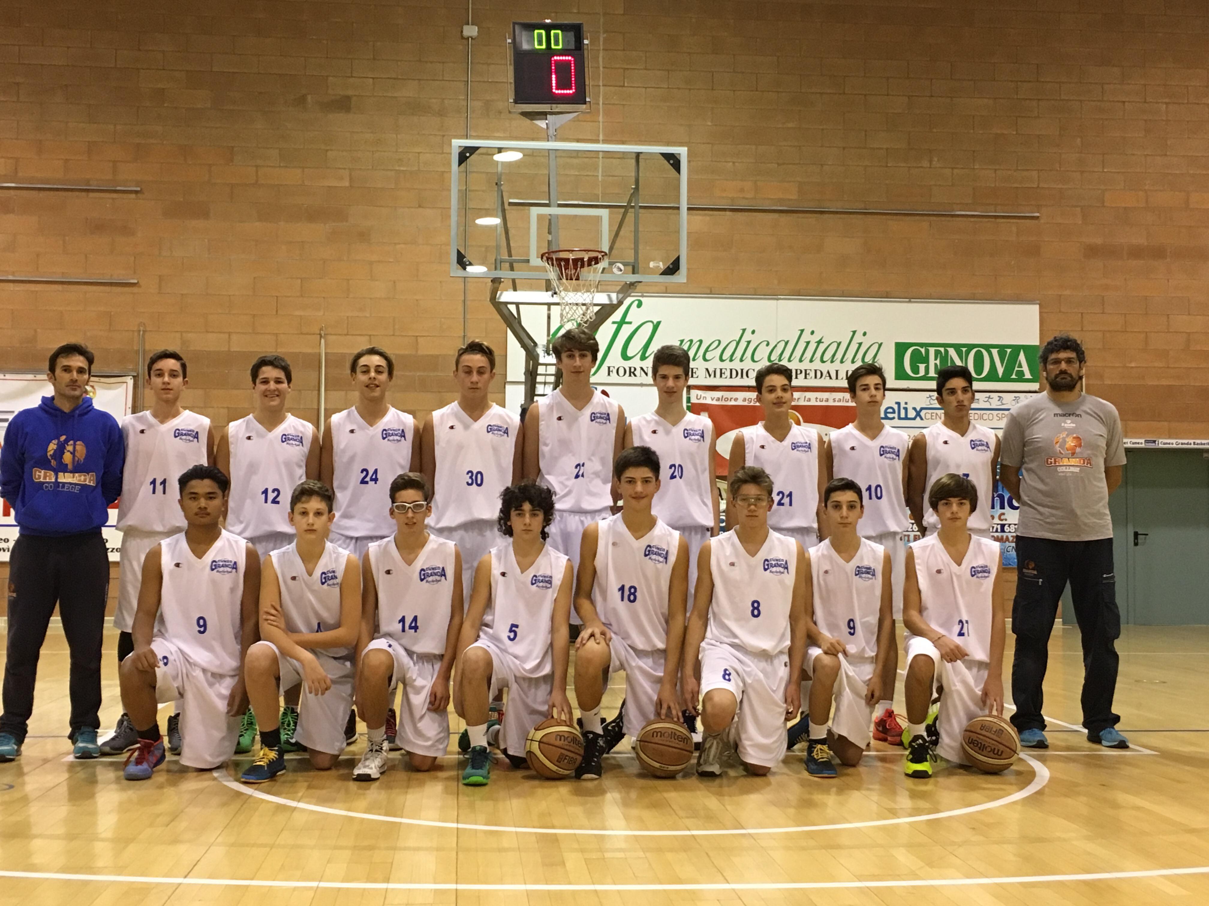 La Guida - Basket – L'Under 15 maschile cede di misura con Grugliasco