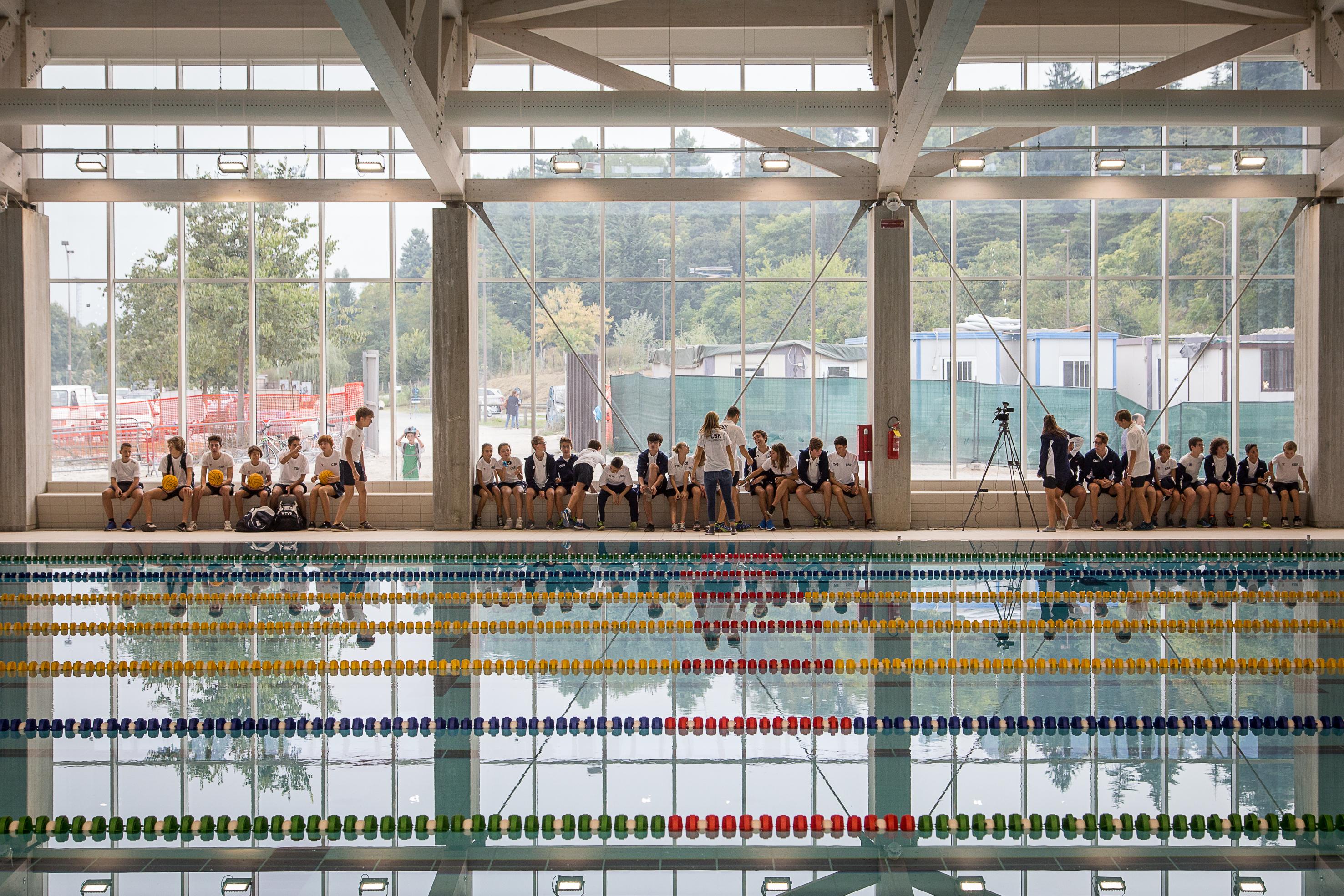 La Guida - Iniziati i lavori del secondo lotto della piscina