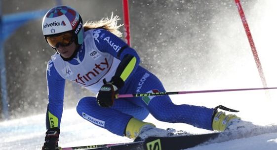 La Guida - Marta Bassino scivola all'8° posto