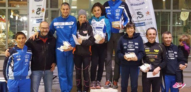 La Guida - Trail di Montemale, primi i Draghi Emanuele Arese e Cristina Masoero