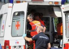 La Guida - Malore al colle dell'Agnello, arriva l'ambulanza