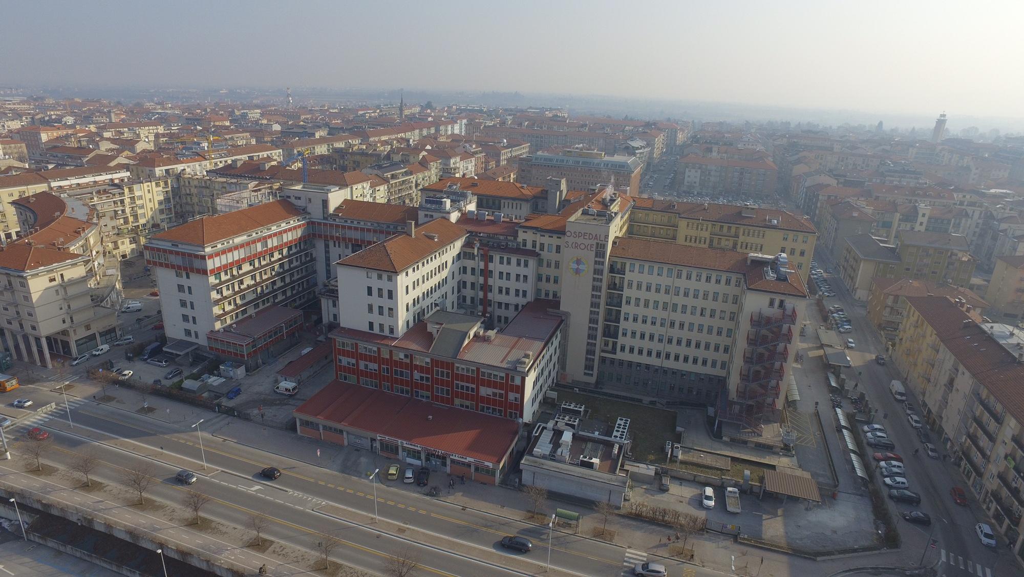 Ospedale Santa Croce visto dall'alto