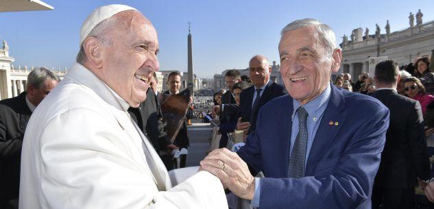 La Guida - L'Avo con Giovanni Quaglia da Papa Francesco