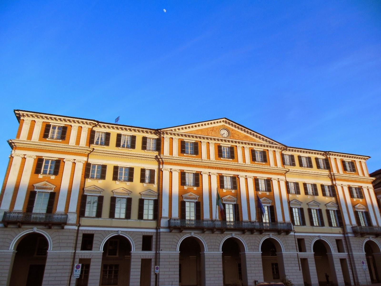L'edificio del tribunale di Cuneo, in piazza Galimberti.