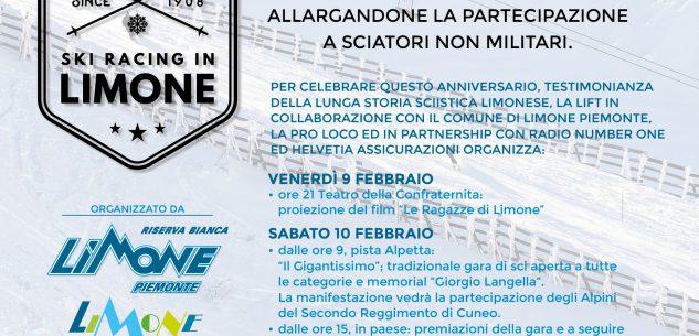 La Guida - Limone festeggia i 110 anni dalla prima gara di sci