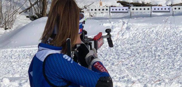La Guida - Martina Vigna ai mondiali giovanili di biathlon