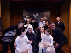 Foto di gruppo degli Attori per caso di Roata Rossi