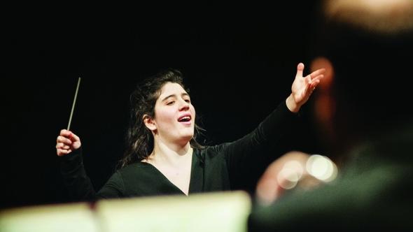 Nil Venditti alla direzione d'orchestra