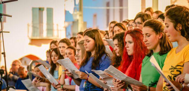 La Guida - Messa Rock 2018, ultima prova del coro
