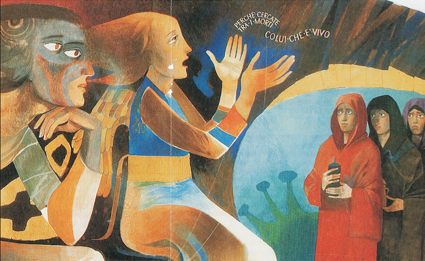 Il volantino che pubblicizza la rassegna Primavera al Museo Diocesano San Sebastiano 2018