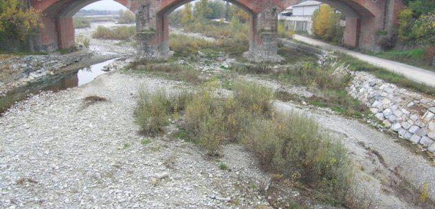 La Guida - Lavori di consolidamento del ponte sul torrente Gesso a Cuneo