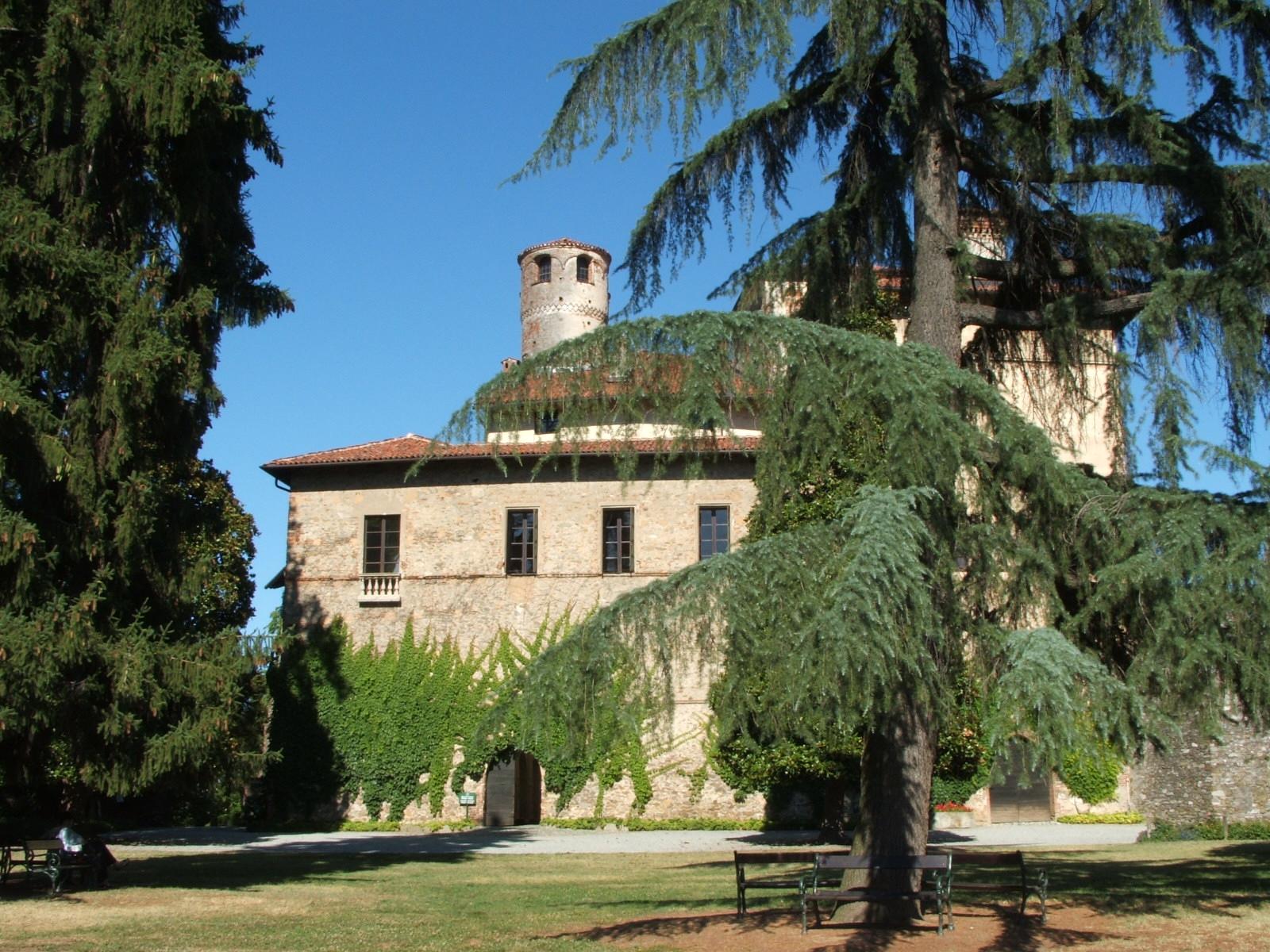 Veduta del Castello della Manta