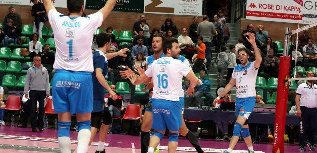 La Guida - Volley maschile, Cuneo supera il Garlasco