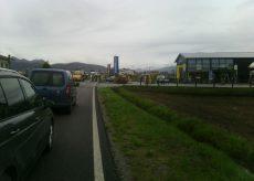 La Guida - Incidente stradale alle porte di Boves, automobilisti feriti lievemente