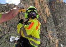 La Guida - In due cadono sulla palestra di roccia, soccorso un giovane ferito
