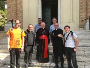 Parroci e vice parroci della città a Roma