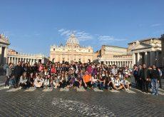 La Guida - In 140 ragazzi della terza media in cammino a Roma