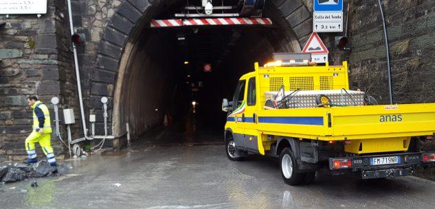 La Guida - Riaperto il tunnel di Tenda