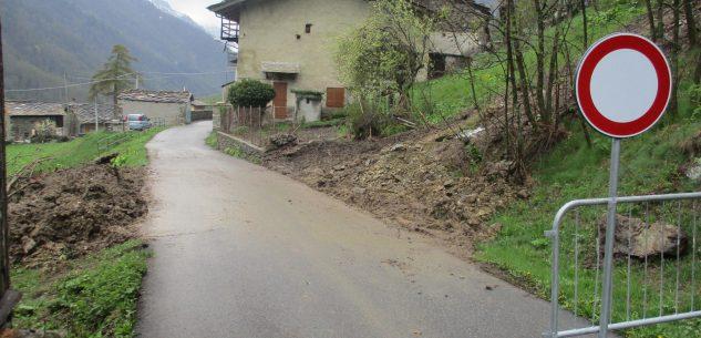 La Guida - Ripristinata la viabilità sulla strada di Casteldelfino