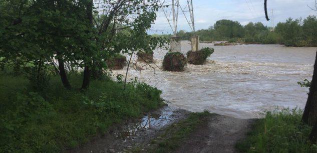 La Guida - A Ceriolo le piogge ingrossano lo Stura erodendo gran parte dei terreni