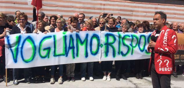 """La Guida - Proteste al tunnel di Tenda, """"vogliamo risposte"""" sui lavori"""