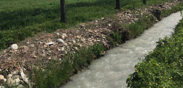 La Guida - Acqua torbida anche nei canali e agricoltura di nuovo in affanno