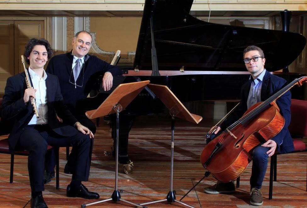 Il Trio Haydn agli strumenti